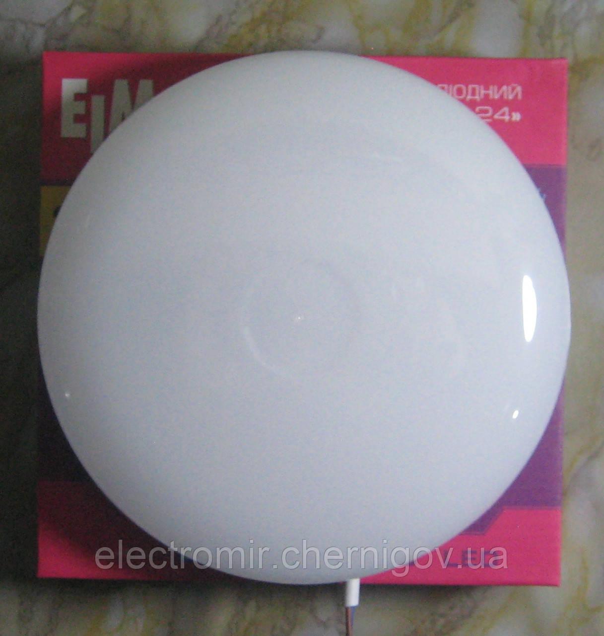 Світильник світлодіодний накладний круглий ELM VEGA-24