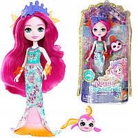 "Кукла Энчантималс роял ""Русалочка Маура с рыбкой Глайд"" Enchantimals Royals Mattel (GYJ02)"