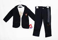 Костюм детский очень стильный тройка для мальчика. Baby small 1802, фото 1