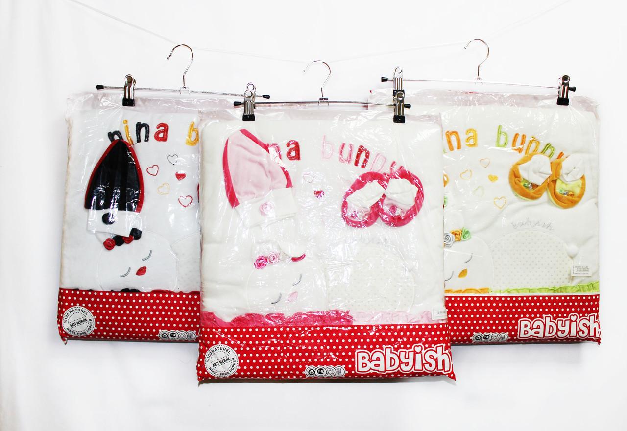 Одеяло-Конверт детское теплое для мальчика и девочки. Babysh 064
