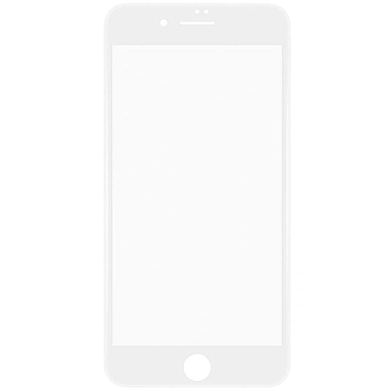 Захисне скло HYBRID для iPhone 7, 8, SE 2020 біле
