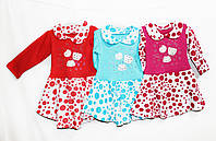Платье детское трикотажное для девочки.Отлично для садика MKS 112