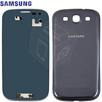 Корпус для Samsung Galaxy S3 i9300, синий, оригинал