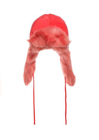 Теплая зимняя шапочка, утеплена мехом, польского производства. , фото 2