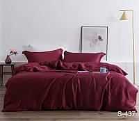 Полуторный комплект постельного белья, сатин S437