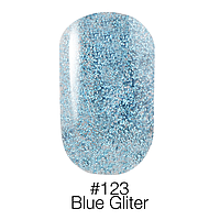 Гель-лак Naomi №123 Blue Gliter 6 мл