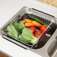 Корзина для кухонной мойки Germece ZP-C4 раздвижная