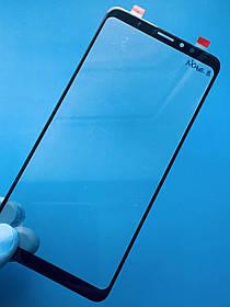 Стекло корпуса для Meizu Note 8 черное (оригинал Китай)