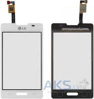 Сенсор (тачскрин) для LG Optimus L4 E440 White