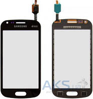 Сенсор (тачскрин) для Samsung Galaxy Trend Plus Duos S7582 Original Black