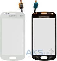 Сенсор (тачскрин) для Samsung Galaxy Trend Plus Duos S7582 Original White