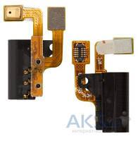 Шлейф для Huawei Ascend P6-U06 с разъемом гарнитуры и микрофоном Original
