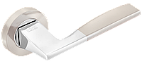Ручка дверна на розетці Z-1220 SN/СР