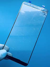 Скло дисплея для Huawei Mate 10 Pro синій (оригінал Китай)