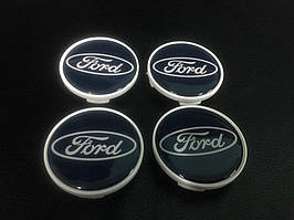 Ford Focus II 2005-2008 гг. Колпачки под оригинальные диски 50мм V1 (4 шт)