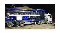 Мобильная/модульная установка по переработке 100 м3 сырой нефти в сутки