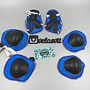 Комплект дитячої захисту, налокітники, наколінники, рукавички, фото 4