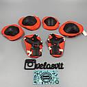 Комплект дитячої захисту, налокітники, наколінники, рукавички, фото 3