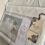 """Комплект постільної білизни з двома підодіяльніками- Сімейний """"Rimbossa"""" - Ефект об'єму  Натуральний Віскоза, фото 3"""