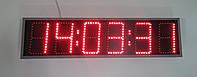 Часы-термометр с секундами