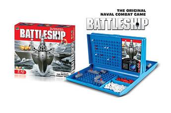 Настольная игра Морской бой 007-44 поле 10х10 см