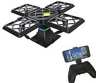 Квадрокоптер Black Knight Cube 414 Wifi | Дрон с камерой на пульте управления