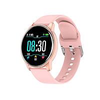Умные часы (фитнес-браслет) 4you BENEFIT (1.3 IPS, 240*240, 12-15days, IP67, 12мес гарантия) pink