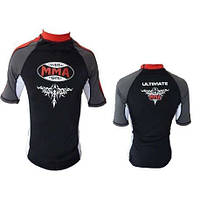 Футболка RashGuard  POWER SYSTEM MMA - 004 SCORPIO RED
