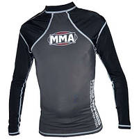 Футболка RashGuard POWER SYSTEM  MMA - 010 COMBAT GREY