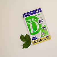 Вітамін Д, DHC, 30 таблеток на 30 днів
