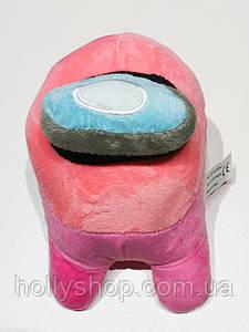 Мягкая игрушка  Among Us «Розовый» 20см
