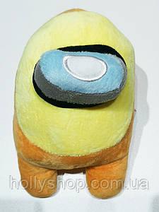М'яка іграшка Among Us «Жовтий» 20см