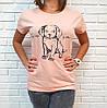 Молодежная футболка хлопок Турция 42-46 (в расцветках), фото 3
