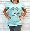 Молодежная футболка хлопок Турция 42-46 (в расцветках), фото 4