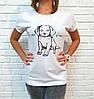 Молодежная футболка хлопок Турция 42-46 (в расцветках), фото 2