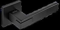Ручка дверная на розетке Z-1320 Black