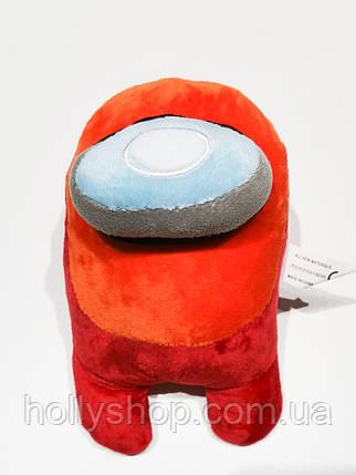 М'яка іграшка Among Us «Червоний» 20см, фото 2