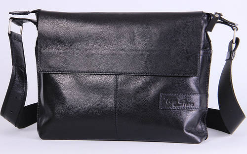 Кожаная мужская сумка-мессенджер Tom Stone 508BR коричневый