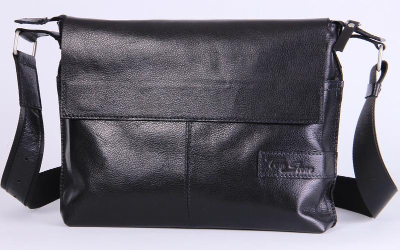 e7fb080e457e Кожаная мужская сумка-мессенджер Tom Stone 508BR коричневый - SUPERSUMKA интернет  магазин в Киеве
