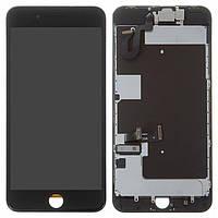 Дисплей для iPhone 8 Plus, модуль (экран и сенсор) с фронтальной камерой, с динамиком, датчиком приближения