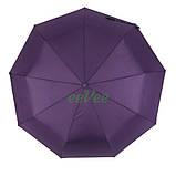Жіночий напівавтомат зонт з внутрішнім малюнком Зоряне небо складаний Фіолетовий Lantana (712/2), фото 4