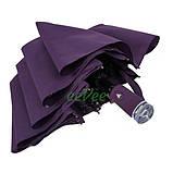 Жіночий напівавтомат зонт з внутрішнім малюнком Зоряне небо складаний Фіолетовий Lantana (712/2), фото 6