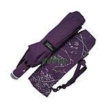 Жіночий напівавтомат зонт з внутрішнім малюнком Зоряне небо складаний Фіолетовий Lantana (712/2), фото 7