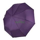 Жіночий напівавтомат зонт з внутрішнім малюнком Зоряне небо складаний Фіолетовий Lantana (712/2), фото 8
