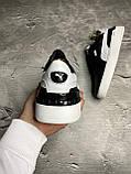 Чоловічі кеди Puma OS242 чорно-білі, фото 5
