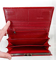 Женский кожаный кошелек Balisa 826Н2 красный Кожаный женский кошелек Балиса закрывается на магнит, фото 3