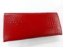 Женский кожаный кошелек Balisa 826Н2 красный Кожаный женский кошелек Балиса закрывается на магнит, фото 4