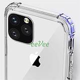 Чехол для Apple iPhone 11 Pro Max прозрачный силиконовый с защитными бортиками Накладка для телефона, фото 3