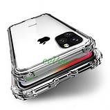 Чехол для Apple iPhone 11 Pro Max прозрачный силиконовый с защитными бортиками Накладка для телефона, фото 4