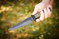 Ніж тактичний SWAT з упором і антибліковим покриттям, міцна сталь
